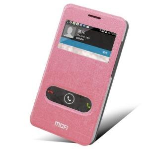 Θήκη HUAWEI Ascend G620 flip - wallet δερματίνη ροζ