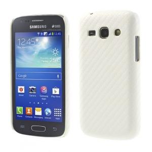 Θήκη SAMSUNG Galaxy Ace 3 πλάτη carbon λευκό