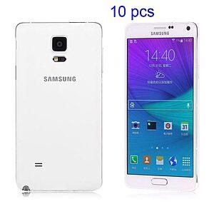 Θήκη SAMSUNG Galaxy Note 4 πλάτη διάφανη λευκό
