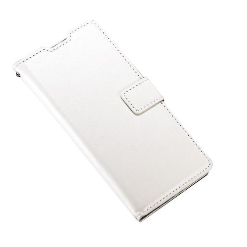 Θήκη SAMSUNG Galaxy A7 (2016) OEM flip - wallet δερματίνη λευκό