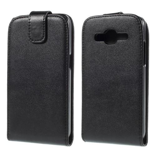 Θήκη SAMSUNG Galaxy Core Prime OEM flip - wallet δερματίνη μαύρο