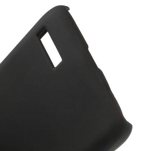 Θήκη ALCATEL Idol Mini πλάτη πλαστική μαύρο