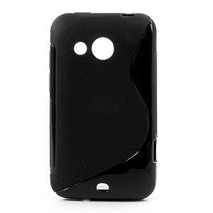 Θήκη HTC Desire 200 πλάτη tpu μαύρο