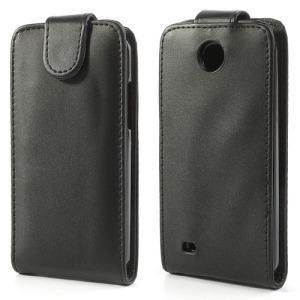 Θήκη HTC Desire 300 flip - wallet δερματίνη μαύρο