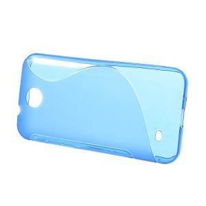 Θήκη HTC Desire 300 πλάτη tpu μπλε