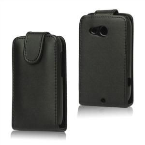 Θήκη HTC Desire A320e flip - wallet δερματίνη μαύρο