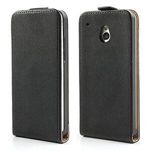 Θήκη HTC One Mini M4 flip - wallet δερματίνη μαύρο