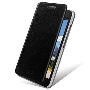 Θήκη HUAWEI Ascend G620 flip - wallet δερματίνη μαύρο