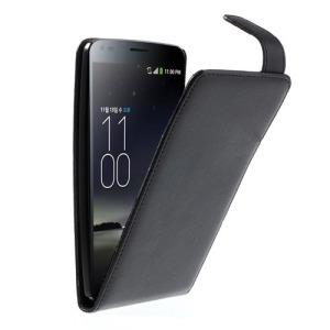 Θήκη LG G Flex flip - wallet δερματίνη μαύρο
