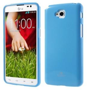 Θήκη LG G Pro Lite πλάτη στρας γαλάζιο