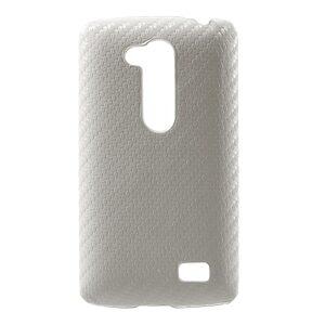 Θήκη LG L Fino πλάτη carbon λευκό