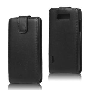 Θήκη LG L9-P760 flip - wallet δερματίνη μαύρο