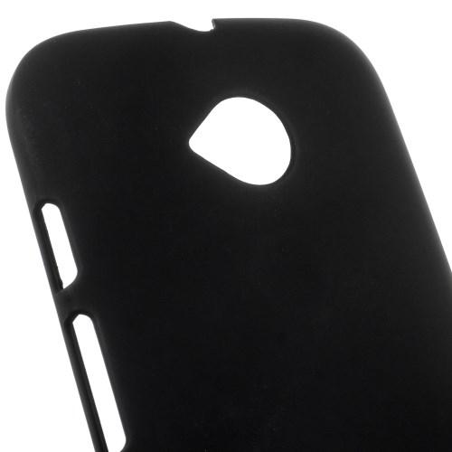 Θήκη MOTOROLA Moto E 2nd Gen πλάτη πλαστική μαύρο