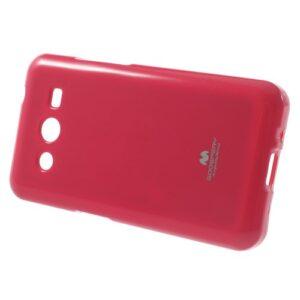 Θήκη SAMSUNG Galaxy Core 2 πλάτη στρας φούξια