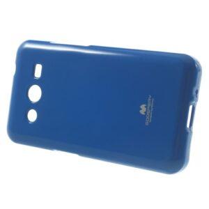 Θήκη SAMSUNG Galaxy Core 2 πλάτη στρας μπλε