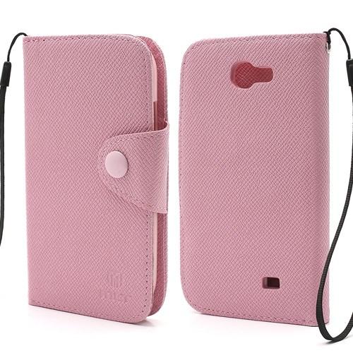 Θήκη SAMSUNG Galaxy Express flip - wallet δερματίνη ροζ