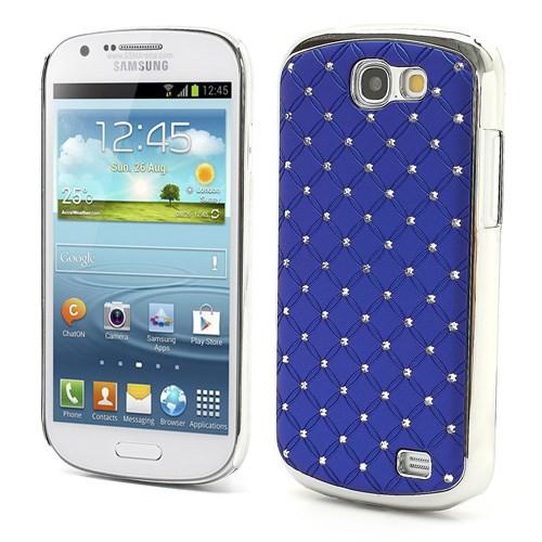 Θήκη SAMSUNG Galaxy Express πλάτη στρας μπλε