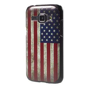 Θήκη SAMSUNG Galaxy J1 πλάτη πλαστική πολύχρωμο