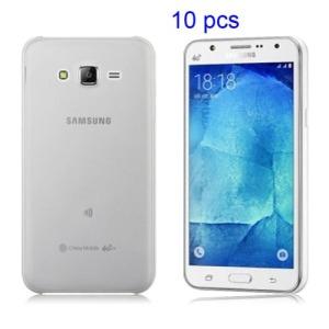 Θήκη SAMSUNG Galaxy J5 πλάτη διάφανη λευκό