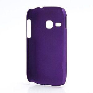 Θήκη SAMSUNG Galaxy Young πλάτη πλαστική μωβ
