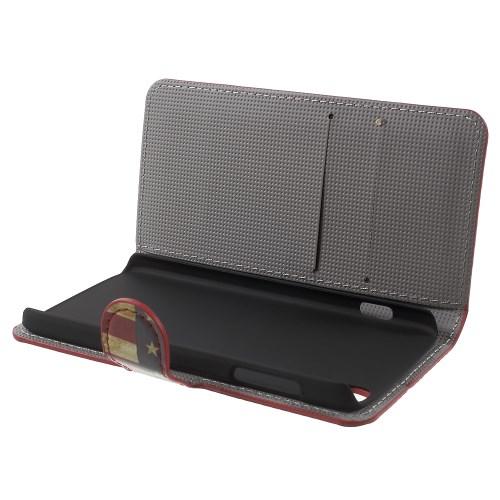 Θήκη ALCATEL Idol 3-4-7inch OEM flip - wallet δερματίνη πολύχρωμο