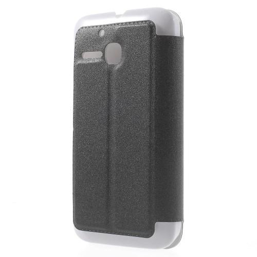 Θήκη ALCATEL One Touch Mpop OEM flip - wallet δερματίνη μαύρο