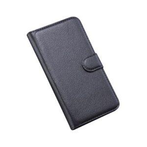 Θήκη ALCATEL Pop S7 OEM flip - wallet δερματίνη μαύρο