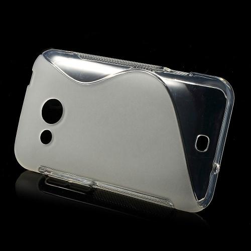 Θήκη HTC Desire 200 OEM πλάτη διάφανη λευκό