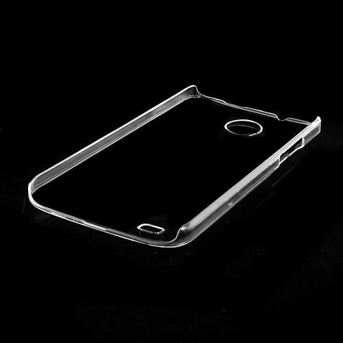Θήκη HTC Desire 300 OEM πλάτη διάφανη λευκό