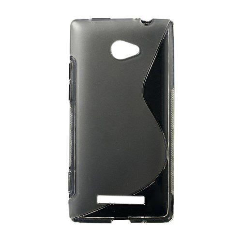 Θήκη HTC Windows Phone 8x OEM πλάτη διάφανη λευκό
