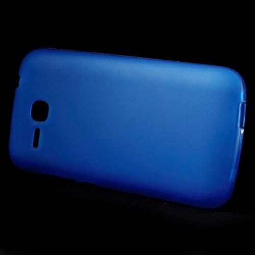 Θήκη HUAWEI Ascend Y600 OEM πλάτη tpu μπλε