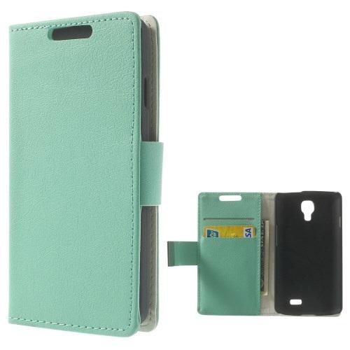 Θήκη LG F70 OEM flip - wallet δερματίνη γαλάζιο