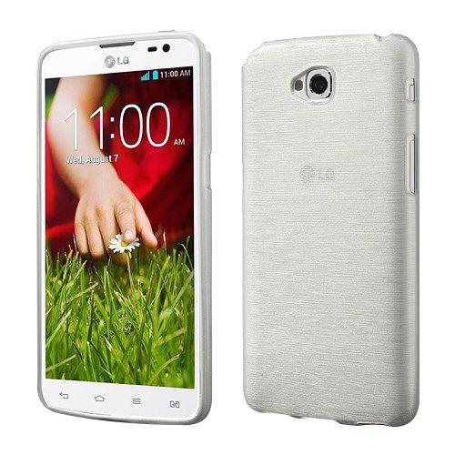 Θήκη LG G Pro Lite OEM πλάτη διάφανη λευκό
