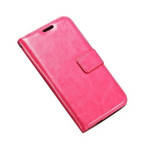 Θήκη LG K4 OEM flip - wallet δερματίνη φούξια