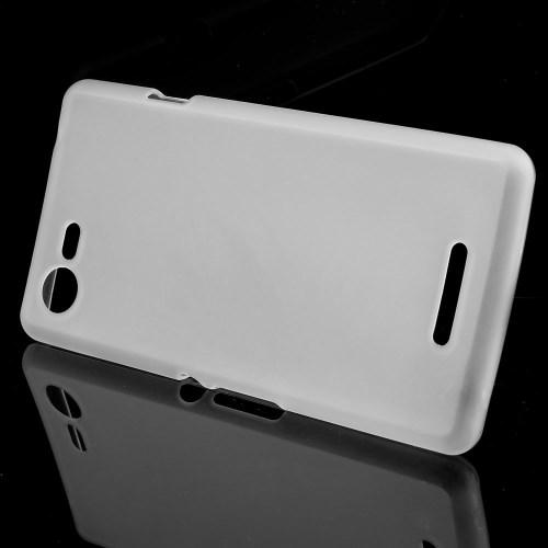Θήκη SONY Xperia E3 OEM πλάτη διάφανη λευκό