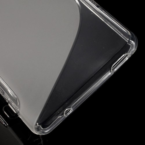 Θήκη SONY Xperia Z3 Compact OEM πλάτη διάφανη λευκό