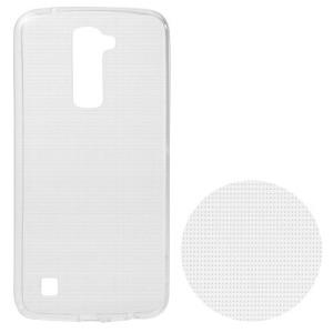 Θήκη LG K10 OEM Πλάτη διάφανη λευκό