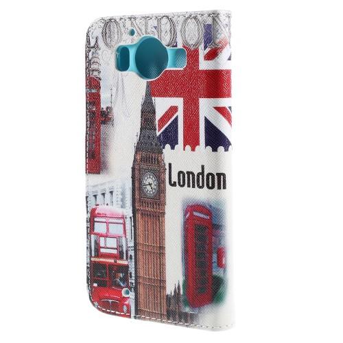 Θήκη NOKIA Microsoft Lumia 950 OEM flip - wallet δερματίνη πολύχρωμο