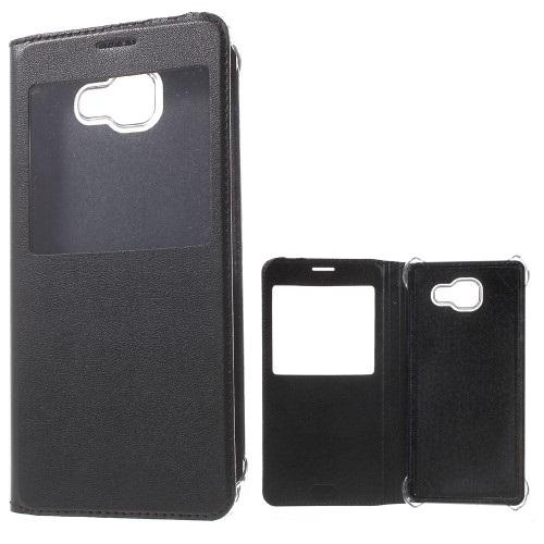 Θήκη SAMSUNG Galaxy A7 (2016) OEM flip - wallet δερματίνη μαύρο
