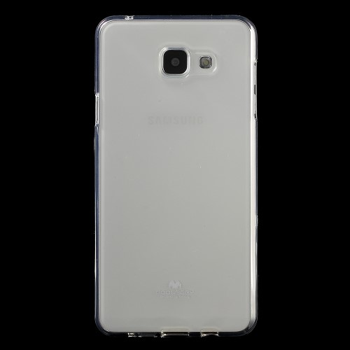 Θήκη SAMSUNG Galaxy A7 (2016) MERCURY GOOSPERY JELLY  Πλάτη διάφανη λευκό