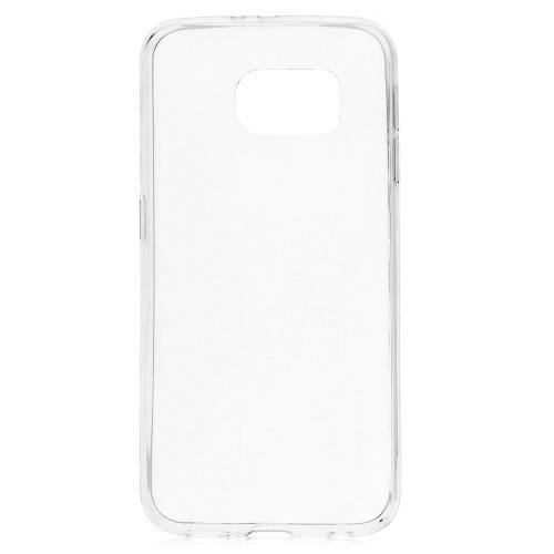 Θήκη SAMSUNG Galaxy S6 OEM Πλάτη διάφανη λευκό