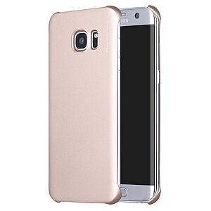 Θήκη SAMSUNG Galaxy S7 Edge X-LEVEL Πλάτη πλαστική χρυσό