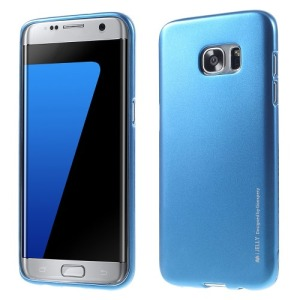 Θήκη SAMSUNG Galaxy S7 Edge MERCURY GOOSPERY i JELLY METAL Πλάτη tpu μπλε