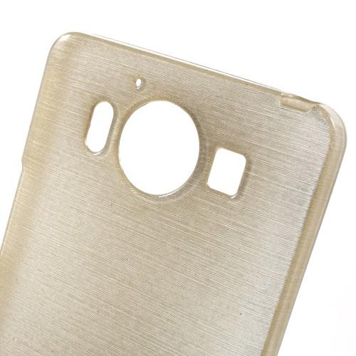 Θήκη NOKIA Microsoft Lumia 950 OEM Brushed Series Πλάτη tpu σαμπανιζέ