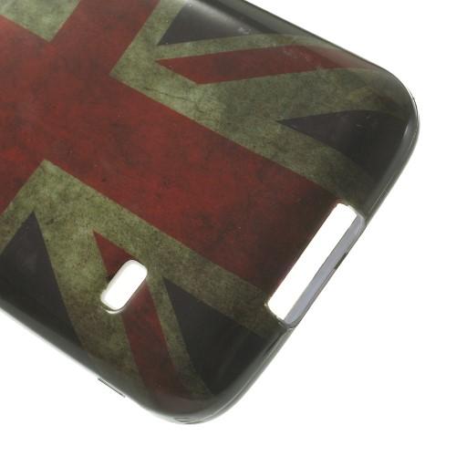 Θήκη SAMSUNG Galaxy S5 Mini OEM σχέδιο Vintage Flag of United Kingdom Πλάτη tpu