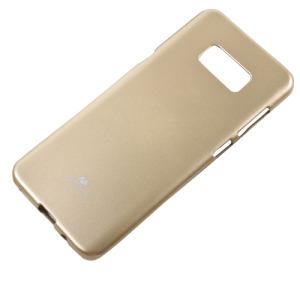 Θήκη SAMSUNG Galaxy S8 Plus MERCURY GOOSPERY Jelly Glitter Πλάτη γκλίτερ χρυσό