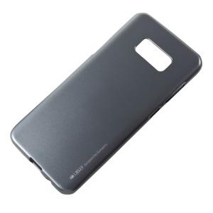 Θήκη SAMSUNG Galaxy S8 Plus MERCURY GOOSPERY i JELLY [Metallic Finish] Πλάτη tpu γκρι