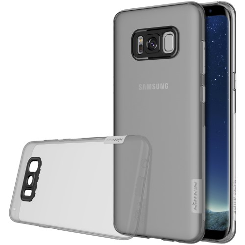 Θήκη SAMSUNG Galaxy S8 Plus NILLKIN Nature Series 0.6mm Πλάτη tpu γκρι