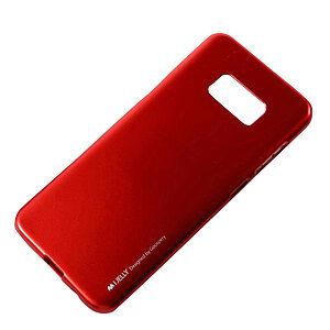 Θήκη SAMSUNG Galaxy S8 Plus MERCURY GOOSPERY i JELLY [Metallic Finish] Πλάτη tpu κόκκινο