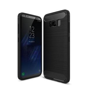 Θήκη SAMSUNG Galaxy S8 Plus OEM Carbon Fibre Brushed TPU Πλάτη tpu μαύρο